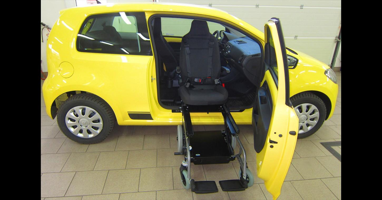 úpravy vozů škoda CITIGO pro invalidy