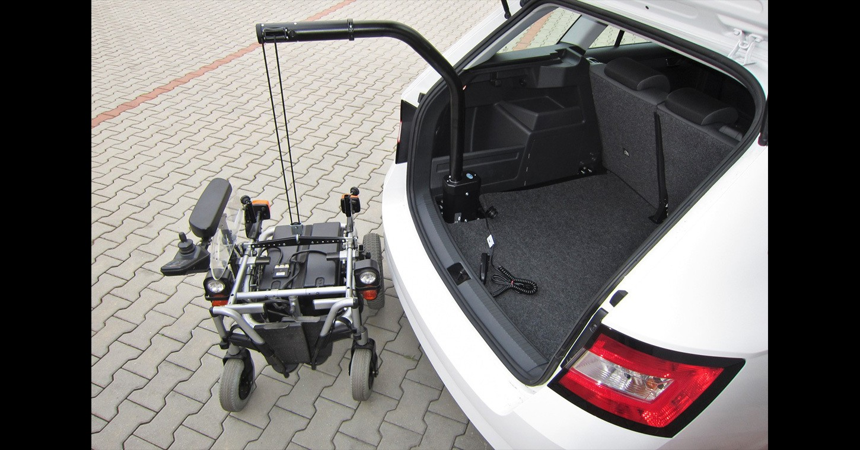 úpravy vozů škoda pro invalidy