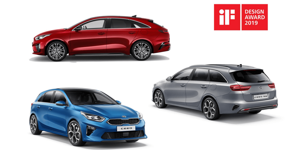 kia ceed if design award 2019