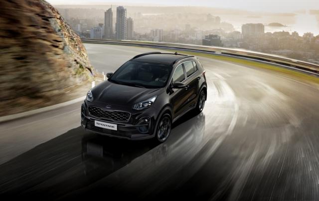 Auto Hybeš_Sportage Black Edition_1